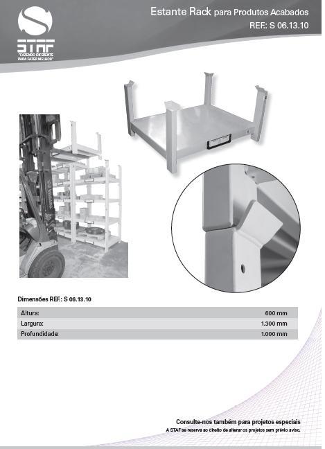 Estante Rack para Estoque de Produtos
